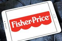 Fisher-цена забавляется логотип изготовителя стоковая фотография