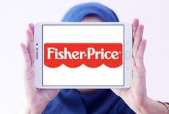 Fisher-цена забавляется логотип изготовителя стоковое фото rf