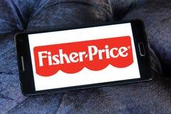 Fisher-цена забавляется логотип изготовителя стоковые фотографии rf