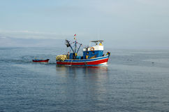 fisher шлюпки Стоковое фото RF