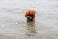 fisher Стоковая Фотография