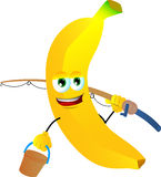 Fisher banana Stock Photo