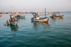 Fisher Boat Fotografie Stock