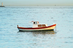 A fisher boat Royalty Free Stock Image
