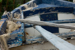Fisher boat Royalty Free Stock Photography
