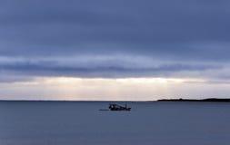 Fisher boat (Pititinga, Brazil) Stock Photography