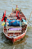 Fisher boat in sea Royalty Free Stock Photography