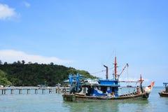 Fisher-Boot Stockbilder