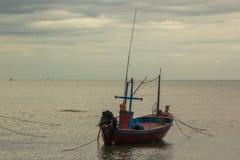 Fisher do barco Imagem de Stock Royalty Free