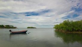 Fisher do barco Foto de Stock Royalty Free