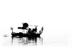 Fisher fartyg Arkivbild