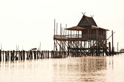 Fisher House. Fisher House in Samut Songkhram Thailand Royalty Free Stock Photos