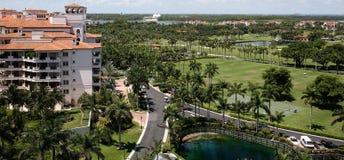 Fisher-Insel, Miami, Florida, USA stockfoto