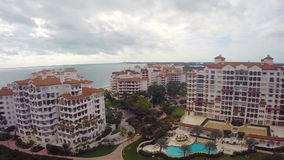 Fisher Island Miami Beach stock video