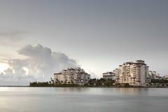 Fisher Island Miami Beach Photo libre de droits