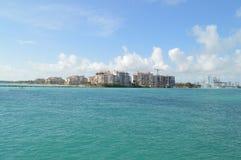 Fisher Island, Miami Beach, Florida Fotografia Stock Libera da Diritti