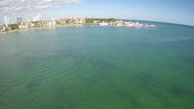 Fisher Island Miami Beach stock video footage