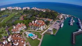 Fisher Island Miami Beach stock footage