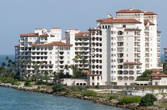 Miami Fisher Island. Fisher Island reential district where reents has the highest per capita income in the United States Florida stock photography