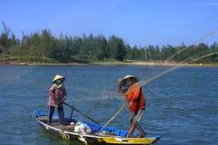 fisher jastrzębia pachnidła rzeka Zdjęcia Stock