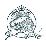 Fisher klubba Royaltyfri Bild