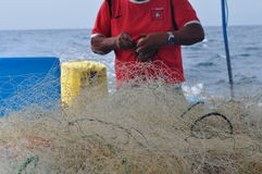 Fisher man Stock Photo