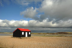 Fisher mans Cottage Rye Harbour Royalty Free Stock Photos