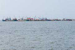 Fisher mnóstwo łódź Zdjęcie Royalty Free
