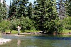 fisher muchy strumienia Obraz Royalty Free