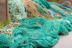 Fisher net background Stock Photo