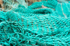 Fisher net background Stock Image