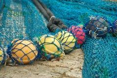 Fisher Net-vlotters Stock Fotografie