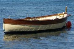 fisher łodzi obraz royalty free
