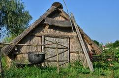 Fishers hut Royalty Free Stock Photography