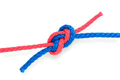 Fisher S Knot 04 Tight Royalty Free Stock Photo