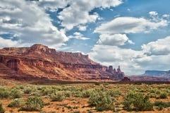 Fisher se eleva, ruta escénica superior de Colorado cerca de Moab Imagen de archivo libre de regalías