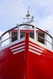 fisher statek fotografia stock