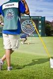 fisher stawiać target282_1_ Ross ngc2009 Obraz Stock