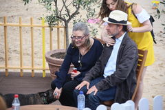 Free Fisher Stevens, Carrie Fisher And Gary Royalty Free Stock Photography - 73449617