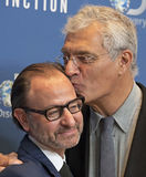 Fisher Stevens and Louie Psihoyos Stock Photos