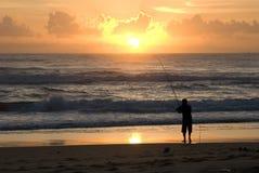 fisher surf Fotografia Stock