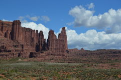 Fisher Towers Fotografia Stock