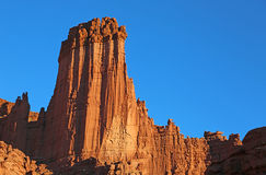 Fisher towers. Landscape with Fisher Towers - Utah royalty free stock photography