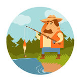 Fisher Stock Image