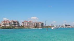 Fisher wyspa w Miami zbiory wideo