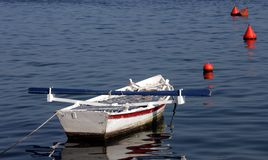 Fisherboat. A fisherboat in Rovinj, medieval city in Istria, Croatia Royalty Free Stock Photography