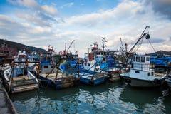 Fisherboat Fotografering för Bildbyråer