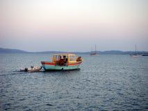 fisherboat Obraz Stock
