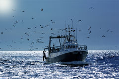 Fisherboat Royalty Free Stock Photo