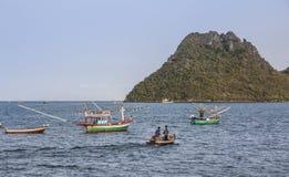 Fisherboats Стоковое Изображение